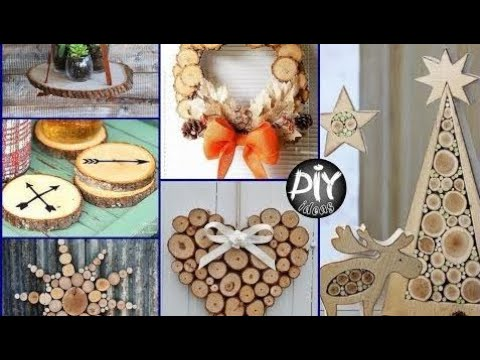 50 DIY Wood Slices Crafts And Room Decor Ideas