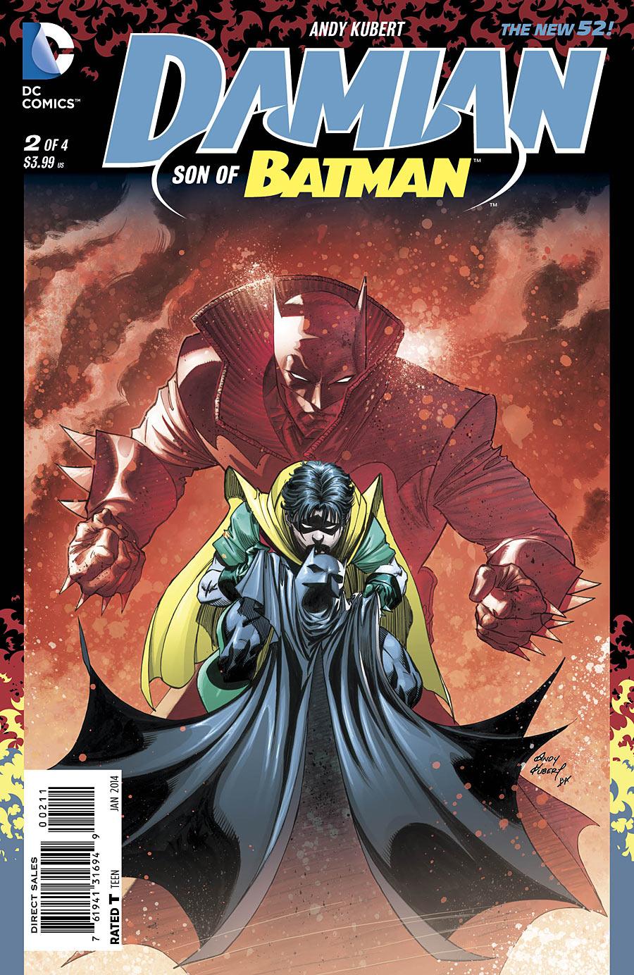 Damian Son of Batman #2