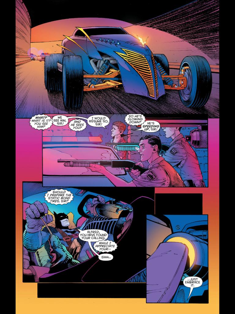Pretty nice roadster, just not very Batman-like.