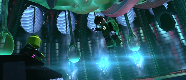 Green Lantern Confronts Braniac
