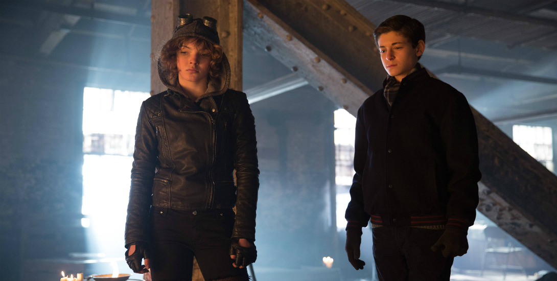 Selina and Bruce on Gotham