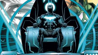 "Batman undergoes a transformation in ""The Darkseid War"""