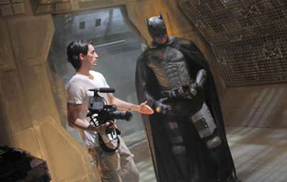 Aaron directs Kevin Porter (Batman)