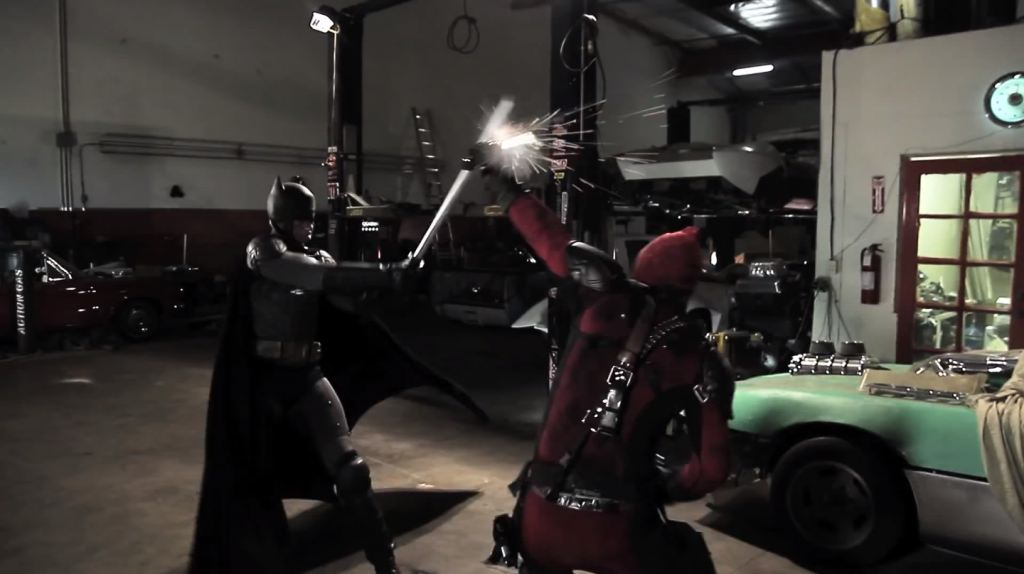 Batman v Deadpool
