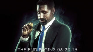 Lucius Fox in Arkham Knight