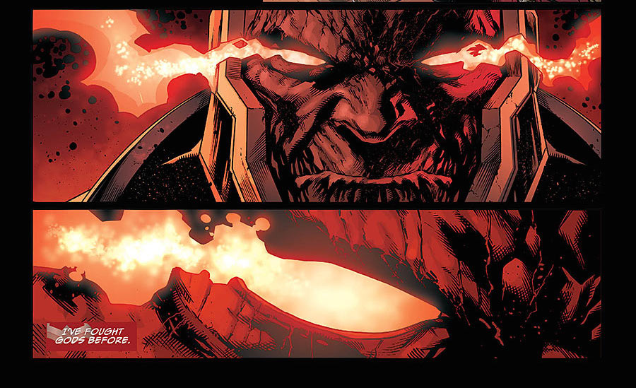 Comics Preview: Justice League #42, the Darkseid War Part 2 - Dark