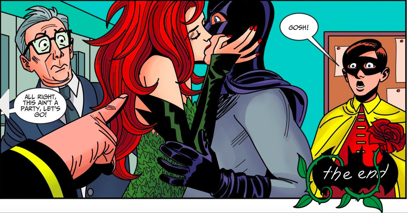 Batman and Ivy