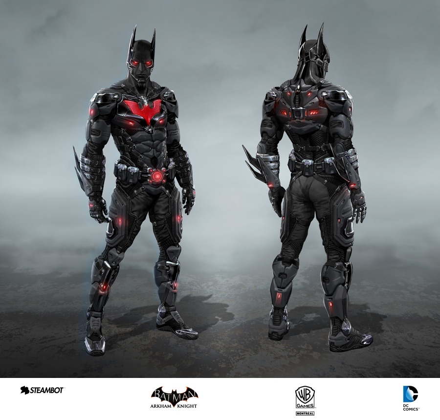 Arkham Knight Skins Revealed Via Concept Art Dark Knight News