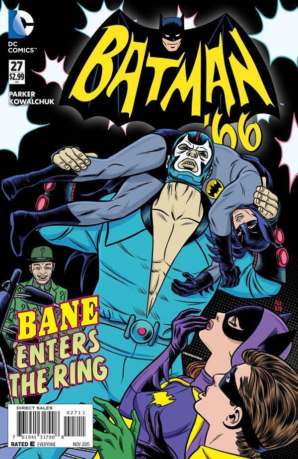 Batman '66 #27 Cover