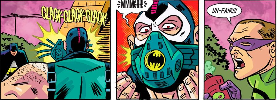 """""""No one cared who I was until I put on the mask..."""""""