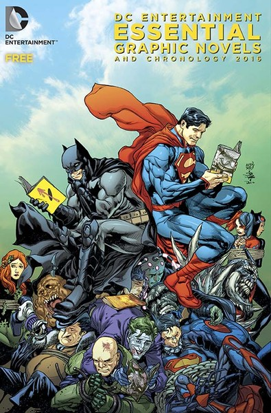 DC COMICS ESSENTIALS AND CHRONOLOGY CATALOGUE 2016