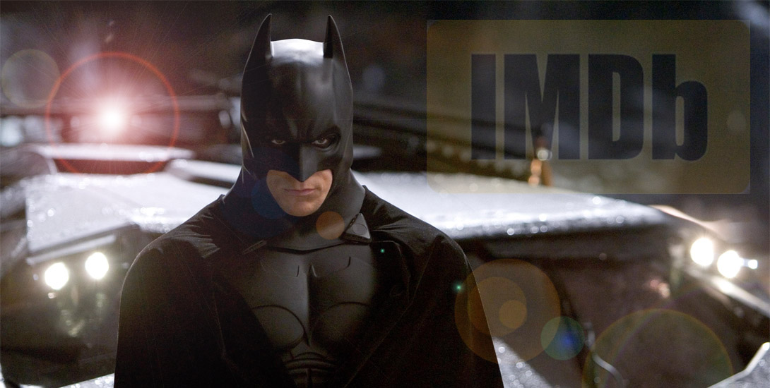 The Dark Knight' features in IMDB's Top Film List on Its
