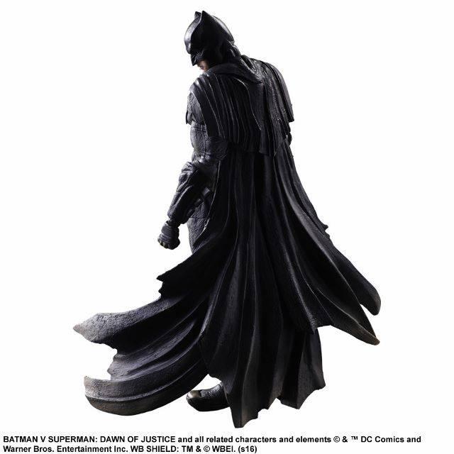 Batman Figure Back View