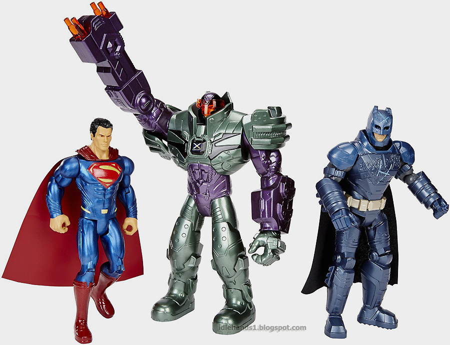 Superman, Batman, and Lex Luthor Box Set
