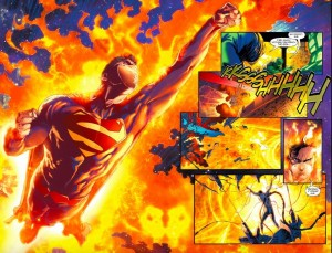 A huge splash, Alex Ross-worth?!