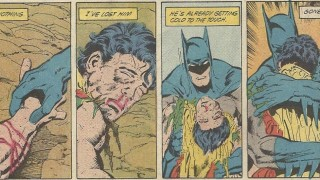 robin's death dark knight news