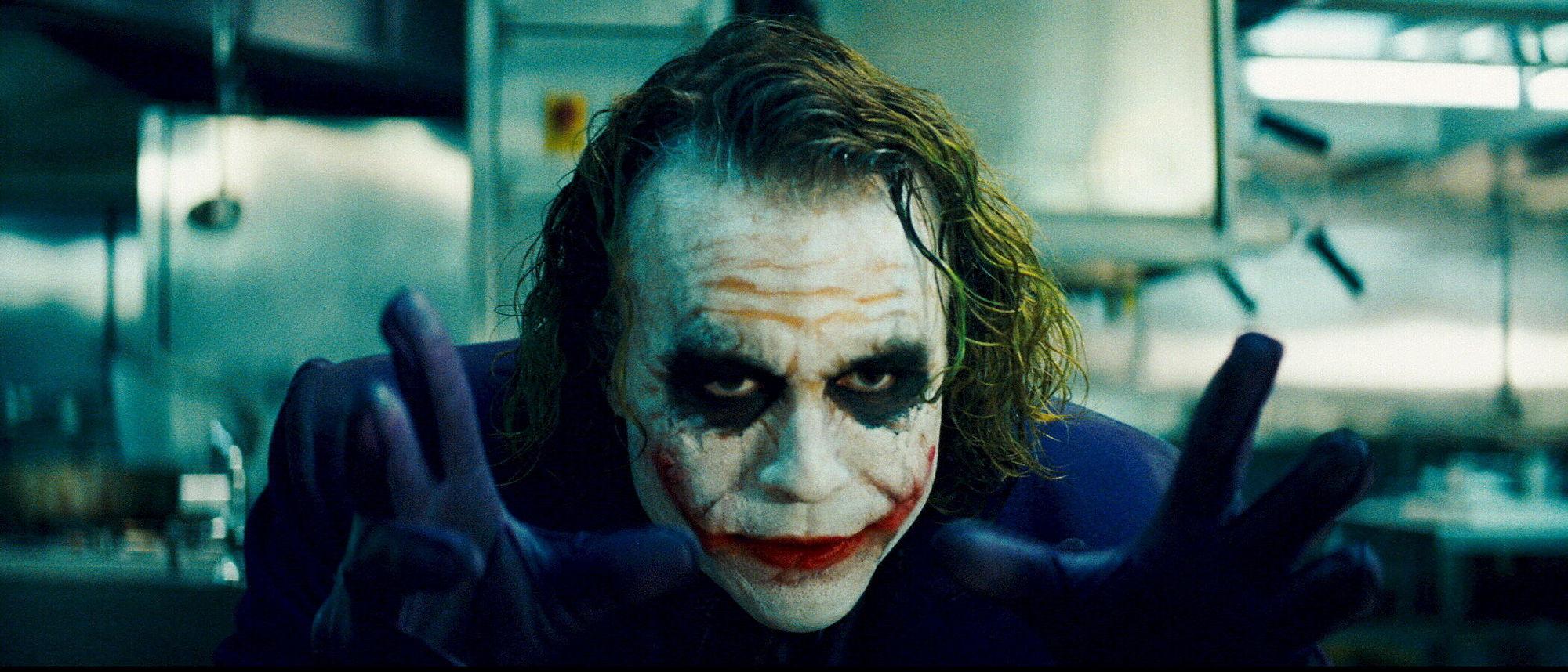 Heath Ledger as the Joker (2008)