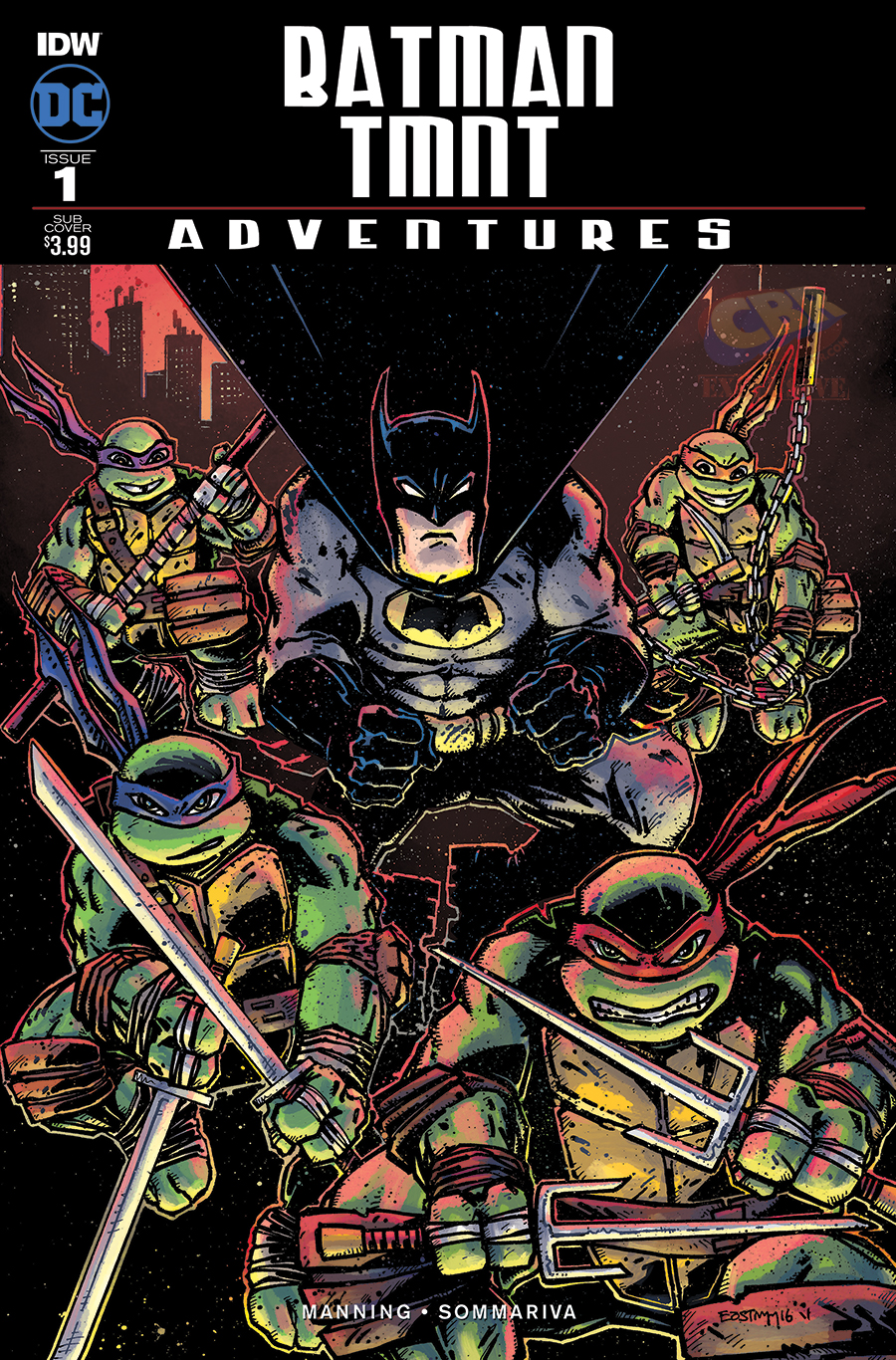 Kevin Eastman Cover