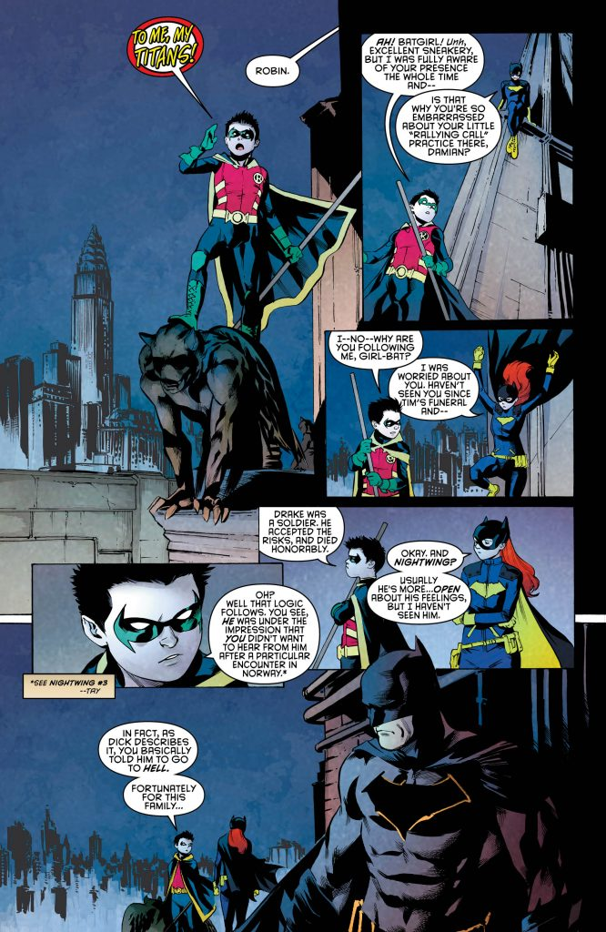 Review: Nightwing #10 - Dark Knight News