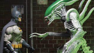 Batman vs. Xenomorph Joker in New NECA Toy Line Dark Knight News
