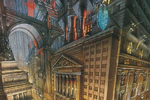Gotham City Concept Art