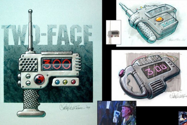Two-Facce's Yin-Yang Bomb Concept Art