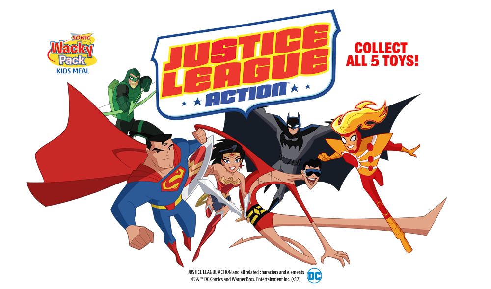 Sonic Drive In Justice League Action Toys