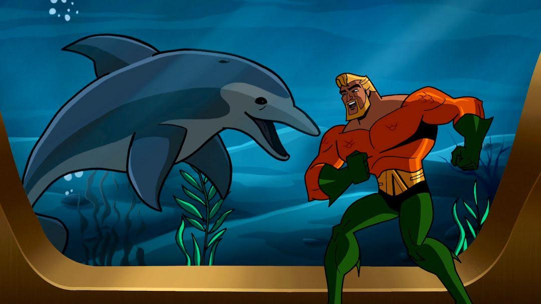 Aquaman from 'Batman: The Brave and the Bold'