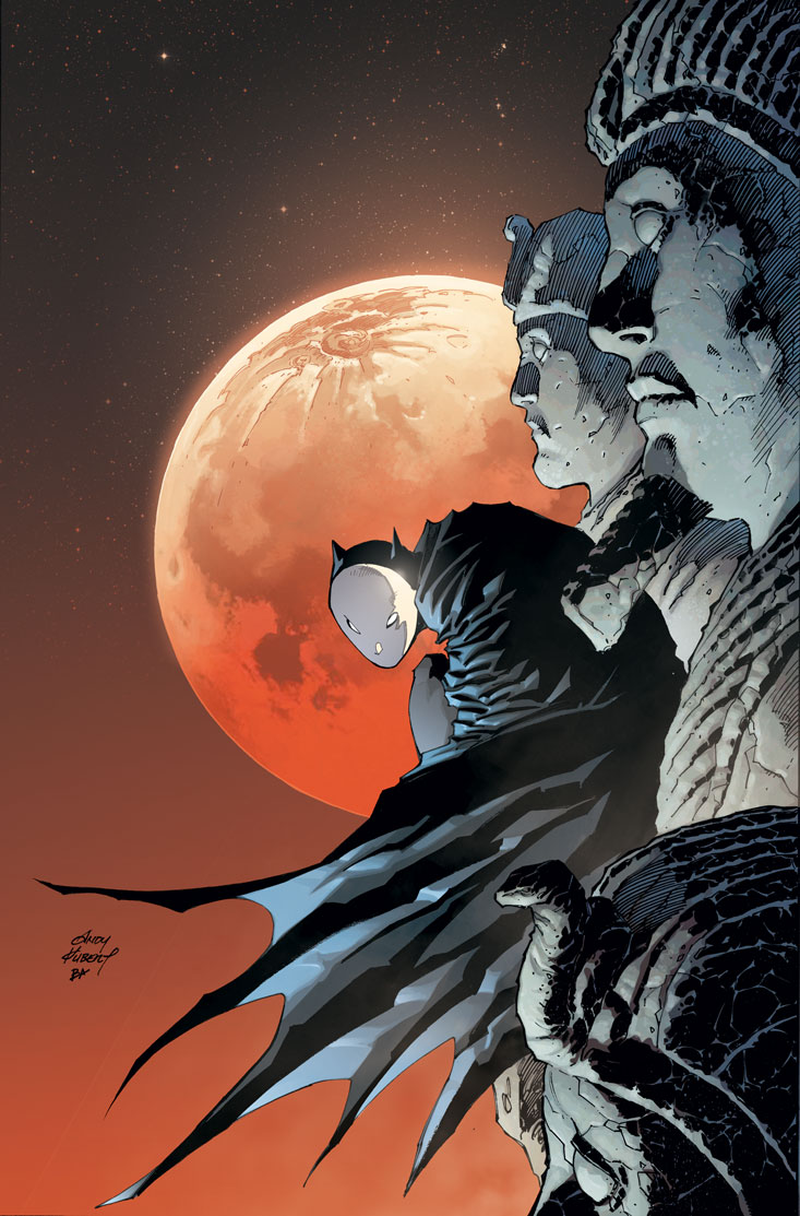 Alternate Cover by Andy Kubert