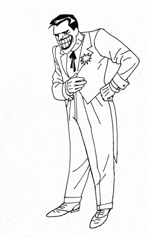 Early Concept for Joker