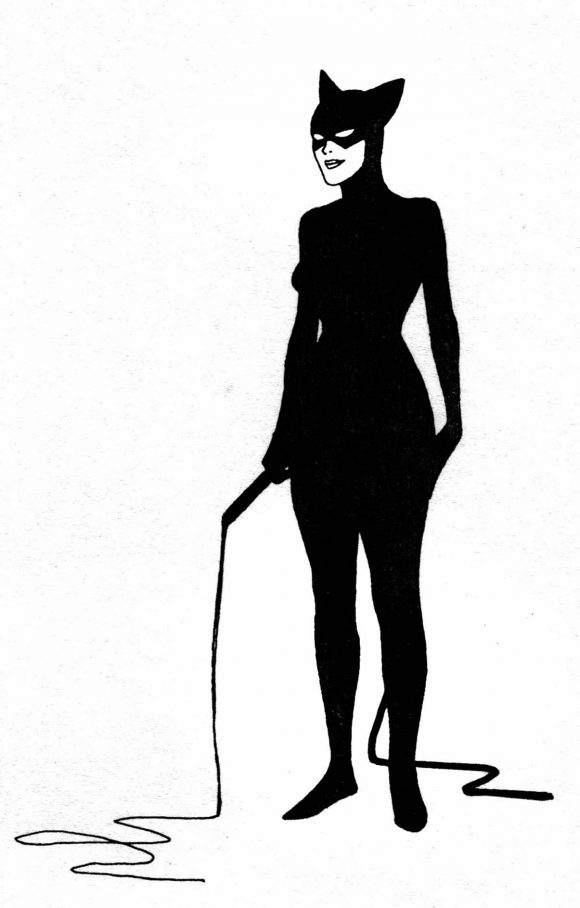 Early Concept for Catwoman