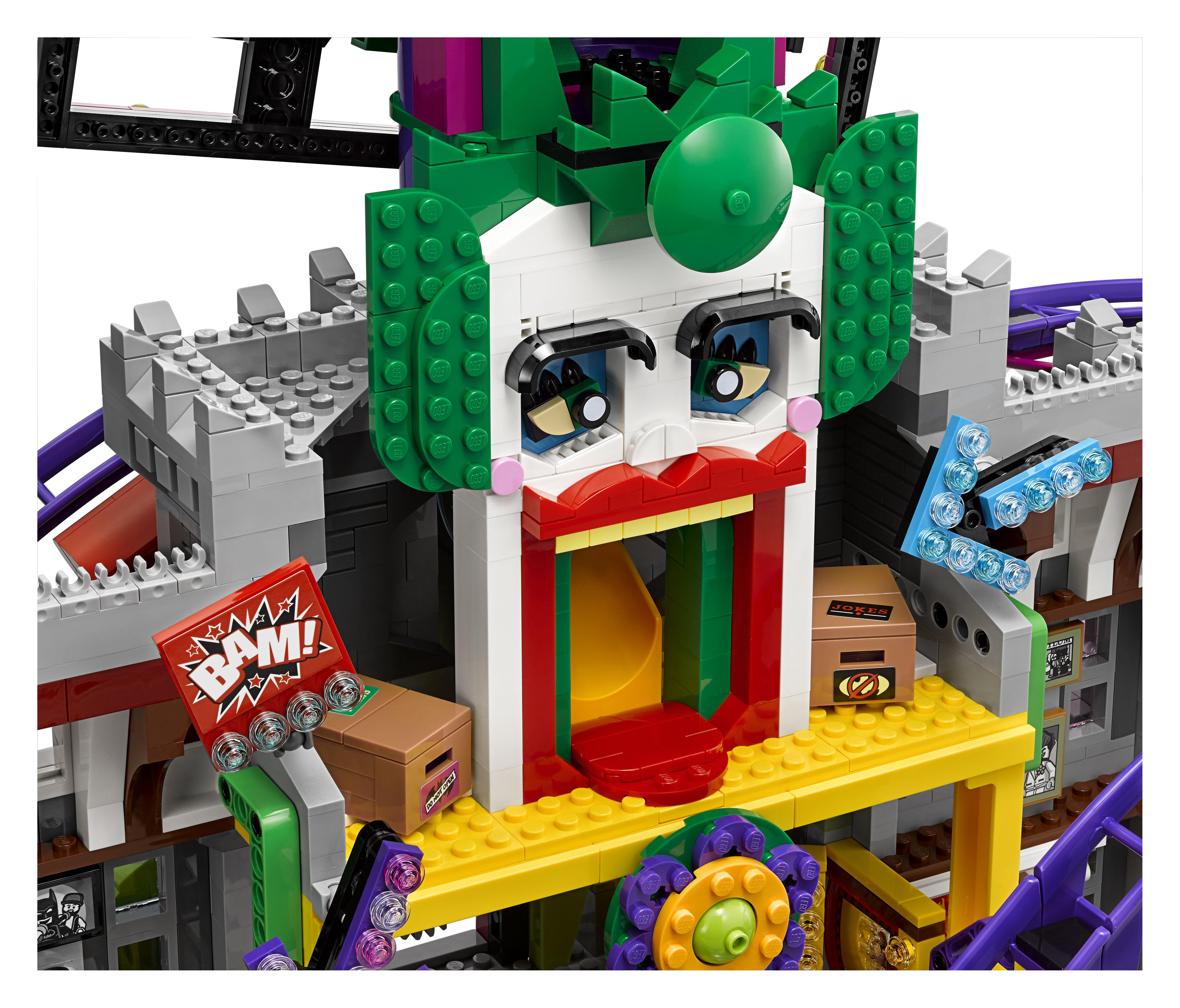LEGO Reveals Joker Manor from 'The LEGO Batman Movie ...
