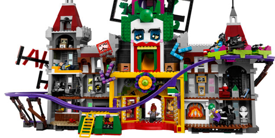 7ab04b7ddce0 joker manor featured. Seven months removed from The LEGO Batman Movie  debuting earlier this year and it keeps on ...