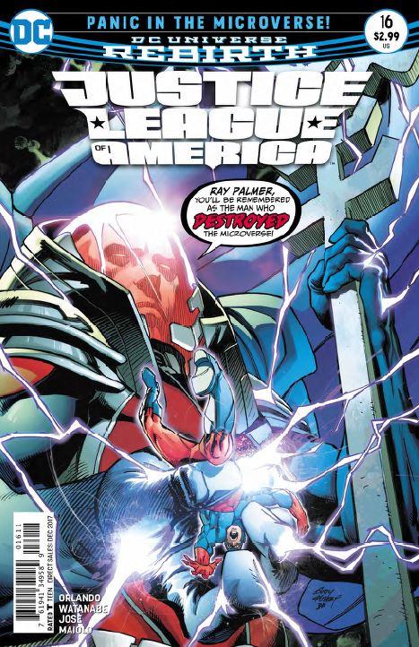 Justice League of America #16