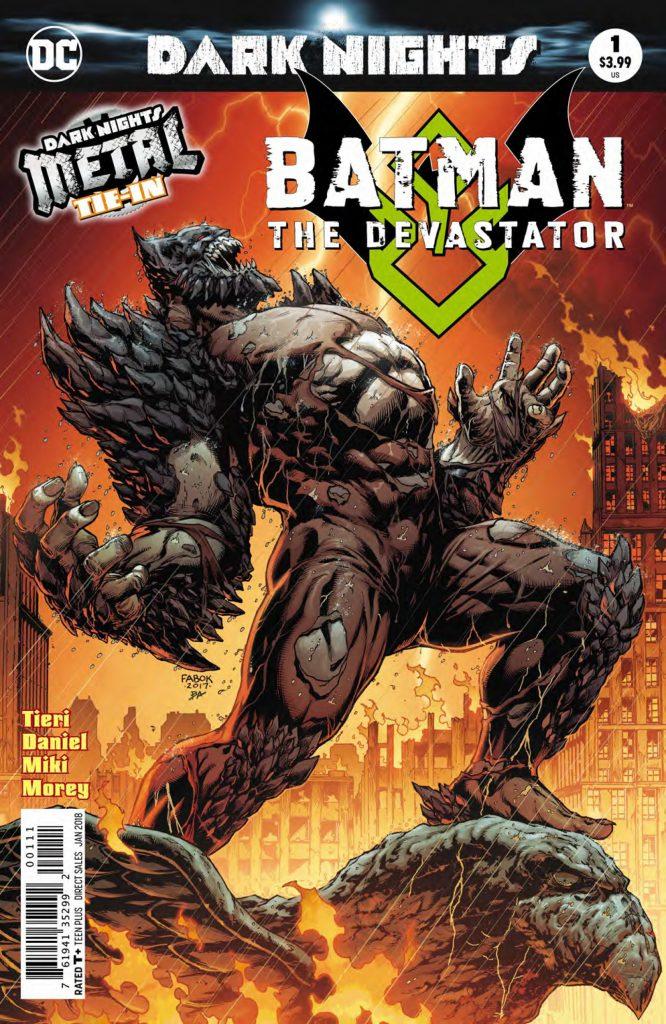 BATMAN THE DEVASTATOR #1 cover