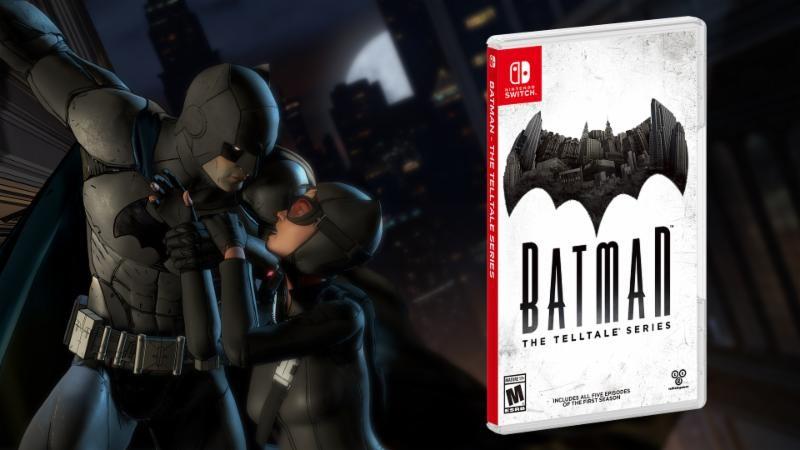 Telltale Batman Season 1 Coming to Nintendo Switch 2