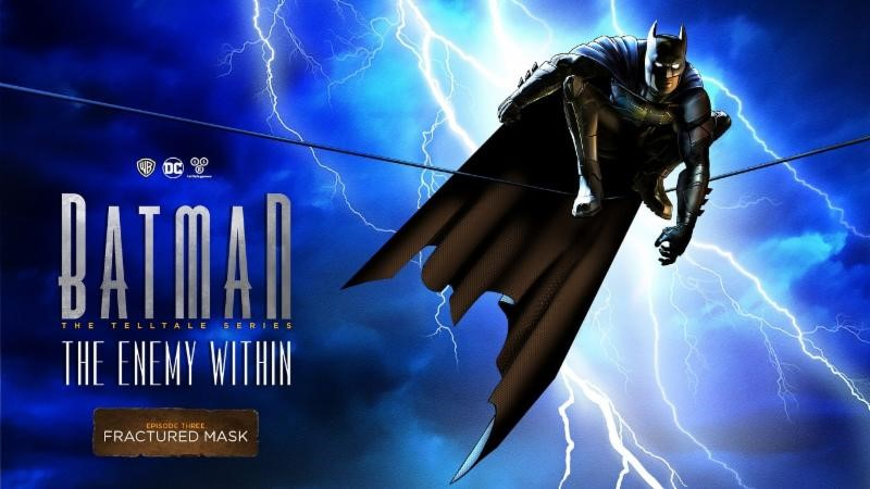New Batman - The Enemy Within Episode 3 Fractured Mask Trailer image 1
