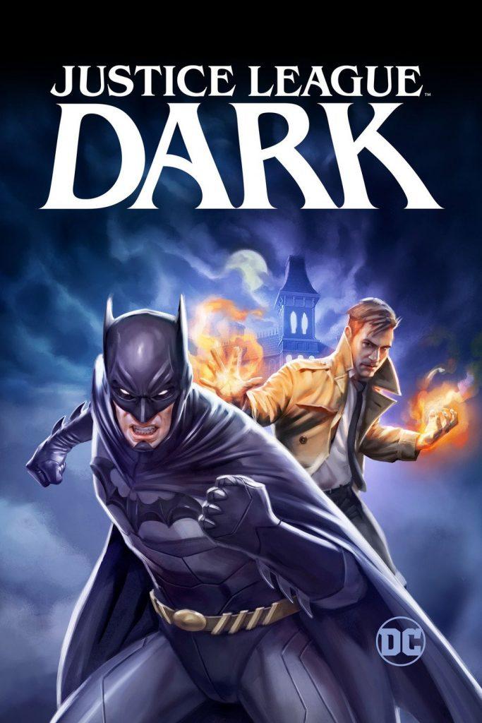 justice league dark cover