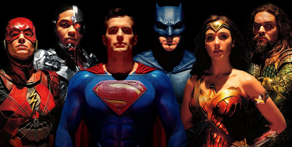 Warner Bros released Justice League in 2017