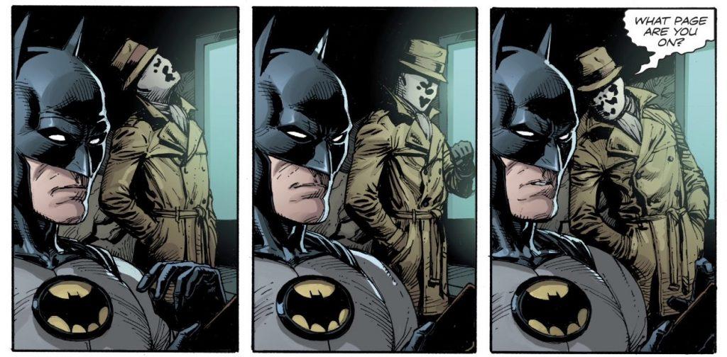 Batman's yellow symbol