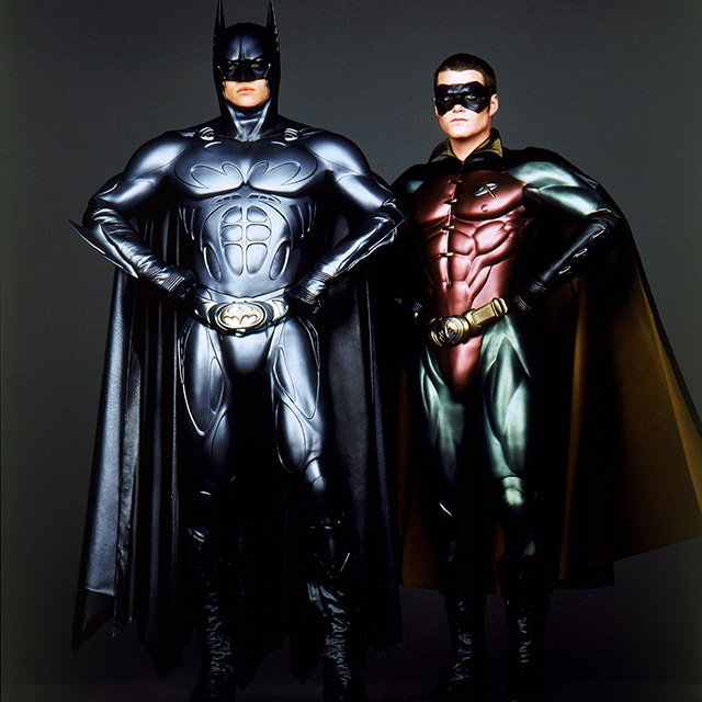 Chris O'Donnell as Dick Grayson in 'Batman Forever'