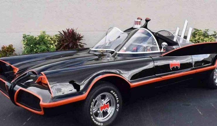 classic 60s Batmobile.