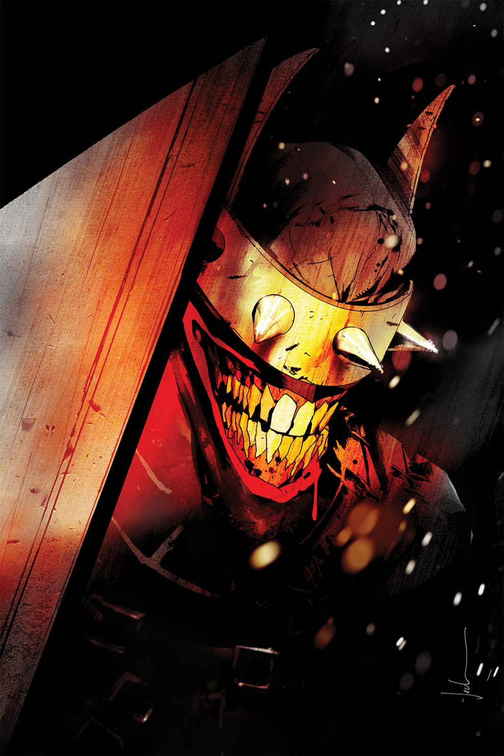 The Batman Who Laughs art by Jock (DC Entertainment)