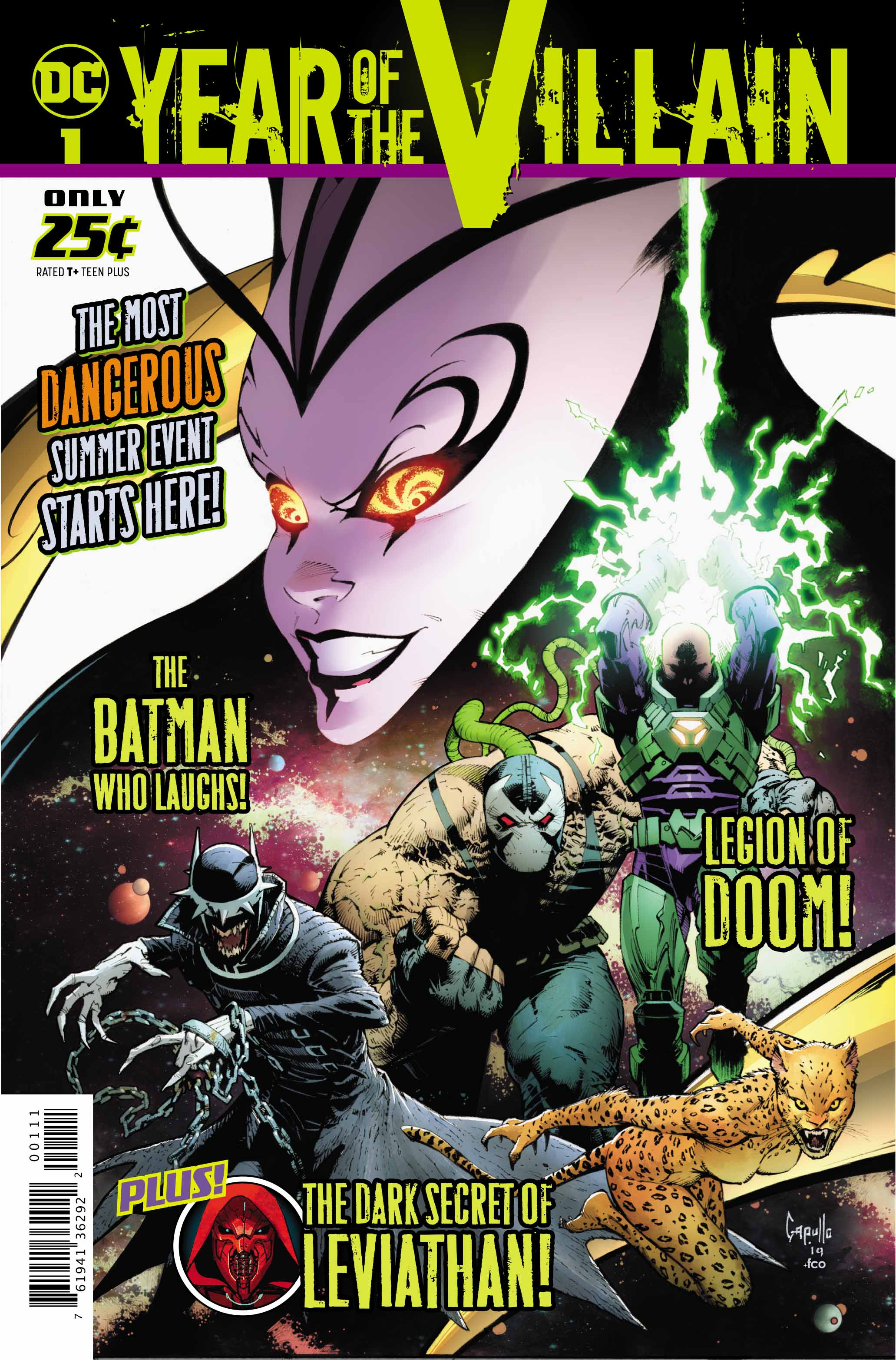 Review: DC Year Of The Villain #1 - Dark Knight News