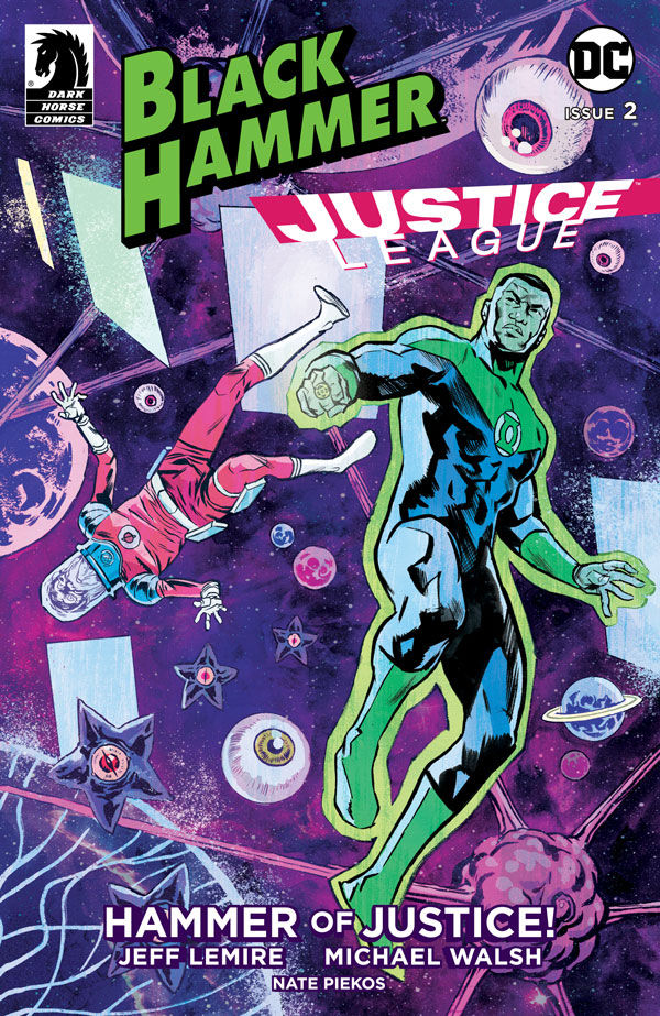 Black Hammer/Justice League #2 GL Cover