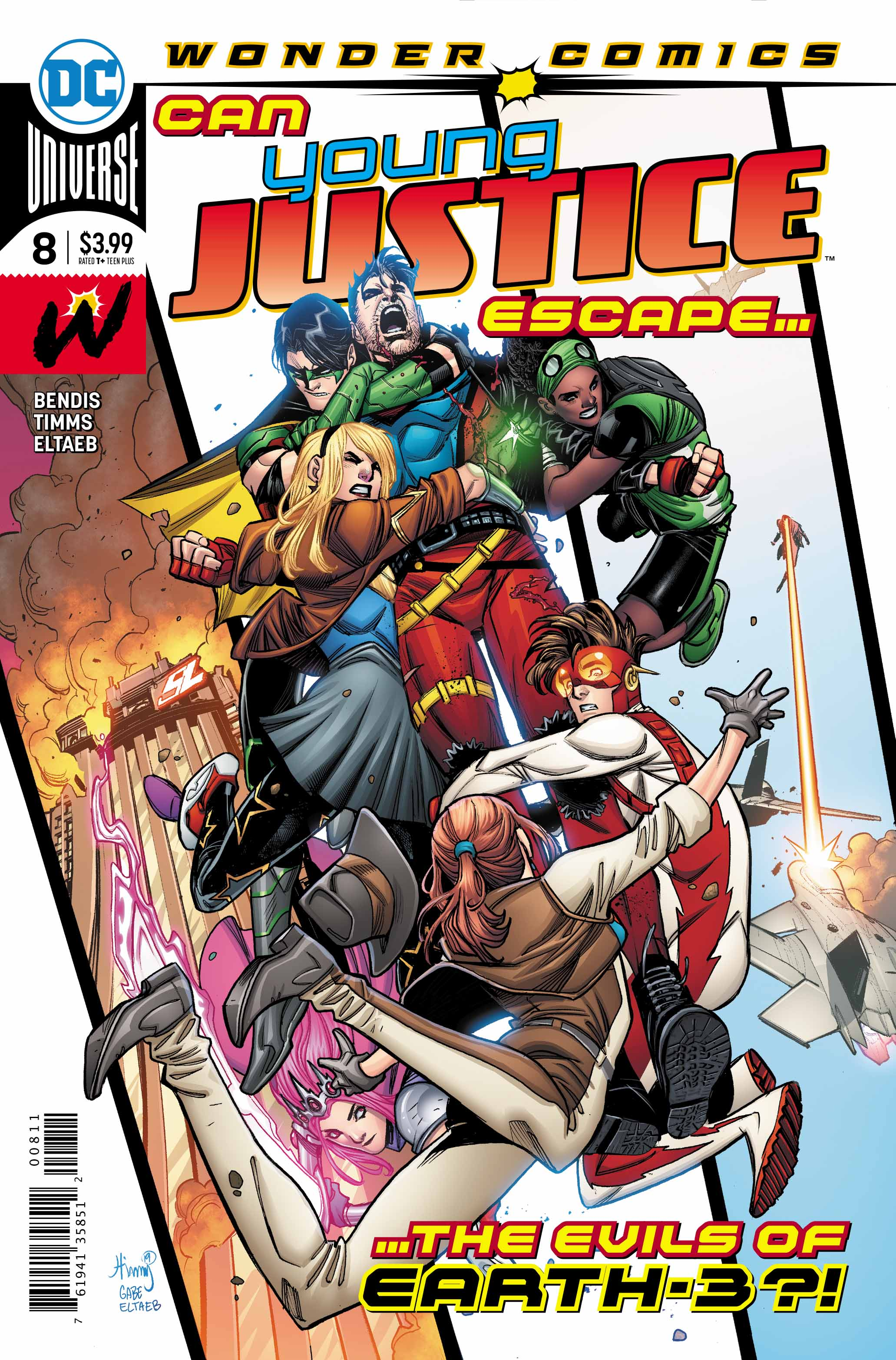 Young Justice #8 Main Cover