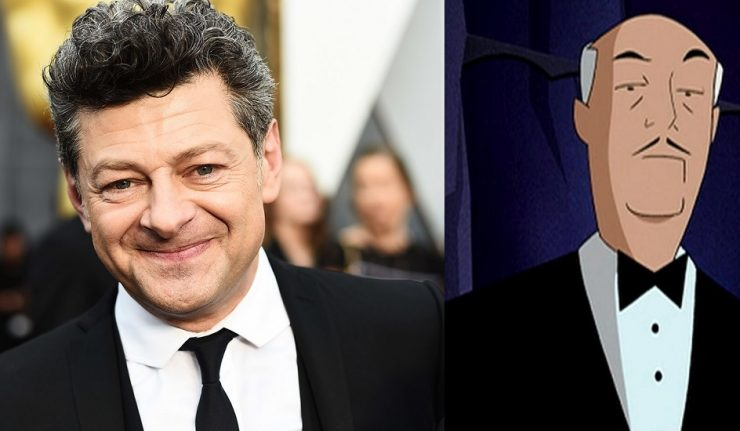 Andy Serkis is our new Alfred