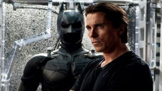 Christian Bale as Bruce Wayne and Batman