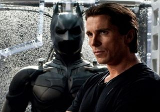 Christian Bale as Bruce Wayne and Batman