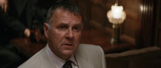 Tom Wilkinson as Falcone in 'Batman Begins'